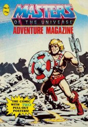 London Editions Magazines's Masters of the Universe Adventure Issue # 2