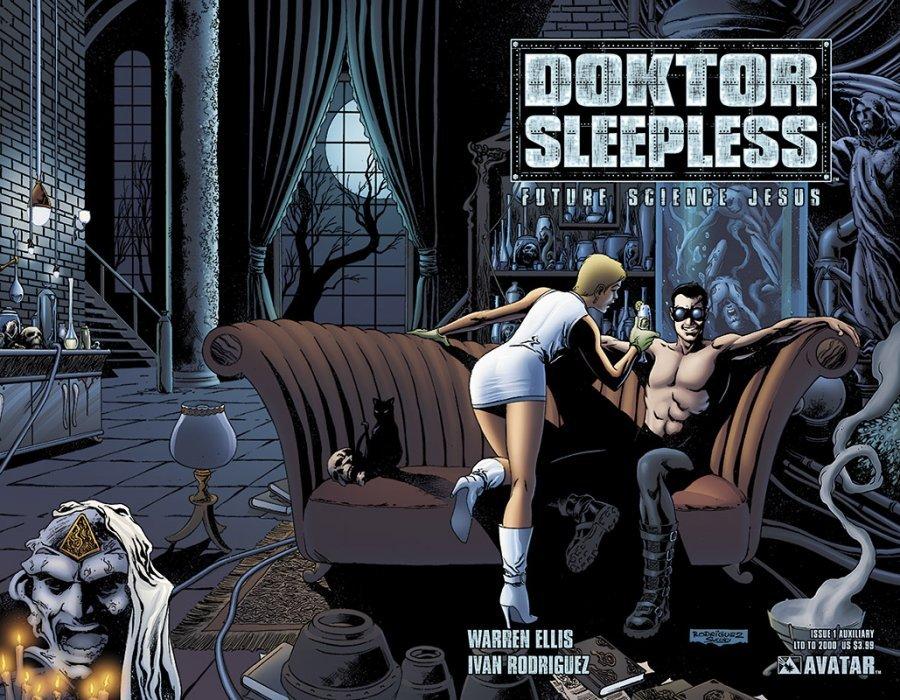 Avatar Presss Doktor Sleepless Issue 1d