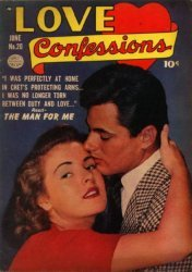 Quality Comics Group's Love Confessions Issue # 20