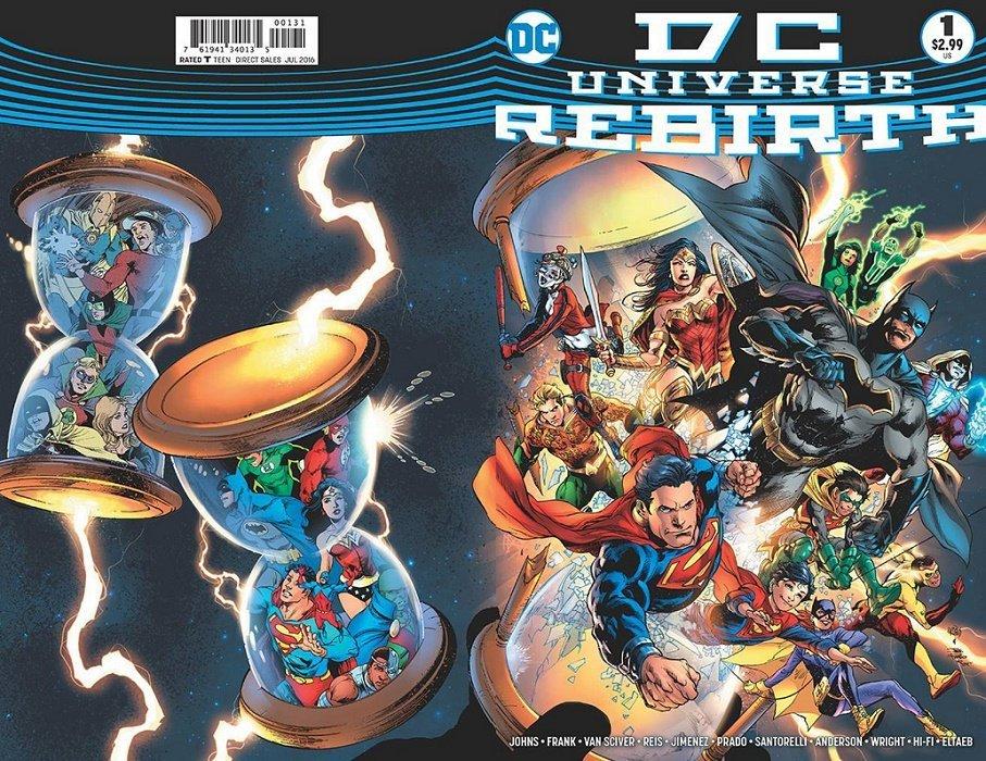 Dc Universe Rebirth Special 1 4th Print Dc Comics