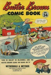 Buster Brown Shoes's Buster Brown Comics Issue # 34wetherhold