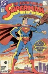 DC Comics's The Adventures of Superman Issue # 424
