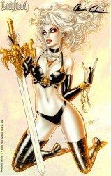 Coffin Comics's Lady Death: Scorched Earth Issue # 1l