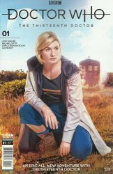 Titan Comics's Doctor Who: 13th Doctor Issue # 1b