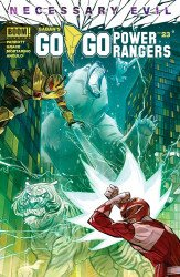 BOOM! Studios's Saban's Go Go Power Rangers Issue # 23