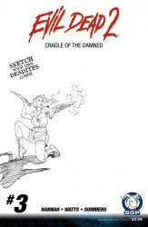 Space Goat Productions 's Evil Dead 2: Cradle Of The Damned Issue # 3c