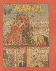 Fawcett Publications's Captain Marvel and the Horn of Plenty Issue nn