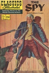 Gilberton Publications's Classics Illustrated #51: The Spy Issue # 1k