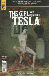 Titan Comics's Hard Case Crime: Minky Woodcock - The Girl Who Electrified Tesla Issue # 1