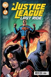 DC Comics's Justice League: Last Ride Issue # 1