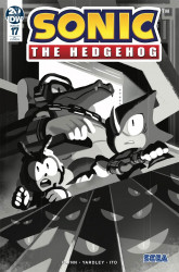 IDW Publishing's Sonic the Hedgehog Issue # 17ri