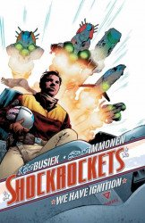 IDW Publishing's Shockrockets Hard Cover # 1