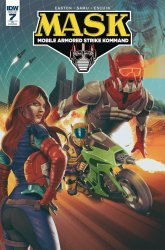 IDW Publishing's M.A.S.K.: Mobile Armored Strike Kommand Issue # 7ri