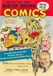 Buster Brown Shoes's Buster Brown Comics Issue # 12family