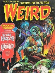 Eerie Publications's Weird Magazine Issue # 4 (5)