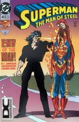 DC Comics's Superman: Man of Steel Issue # 45b