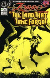 American Mythology's Zorro in the Land that Time Forgot Issue # 4b
