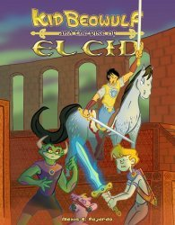 Bowler Hat Comics's Kid Beowulf Soft Cover # 3