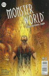 American Gothic Press's Monster World: The Golden Age Issue # 4