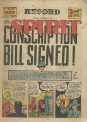 Eisner Studios's The Spirit Weekly Issue # 22