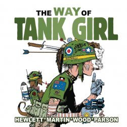 Titan Comics's The Way Of Tank Girl Hard Cover # 1