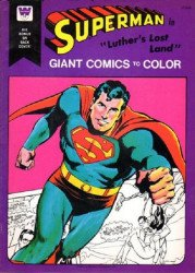 Whitman's Giant Comics to Color: Superman Soft Cover # 1
