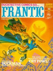 Marvel UK's Frantic Issue # 13