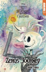 Tokyo Pop/Mixx's Tim Burton's Nightmare Before Christmas: Zero's Journey Soft Cover # 3b