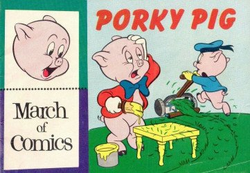 Western Printing Co.'s March of Comics Issue # 143b