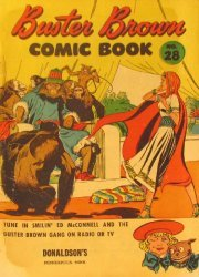 Buster Brown Shoes's Buster Brown Comics Issue # 28donaldsons