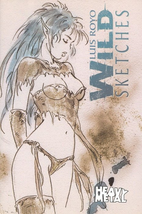 Wild Sketches 1 Heavy Metal's Wild Sketches
