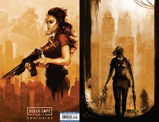 IDW Publishing's Pandemica Issue # 1black cape-b