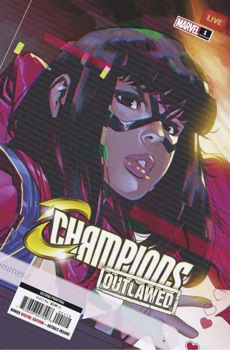 Champions #9 Mary Jane Variant NM New Unread
