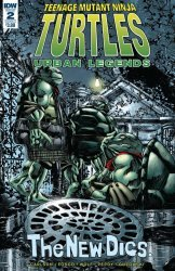 IDW Publishing's Teenage Mutant Ninja Turtles: Urban Legends Issue # 2
