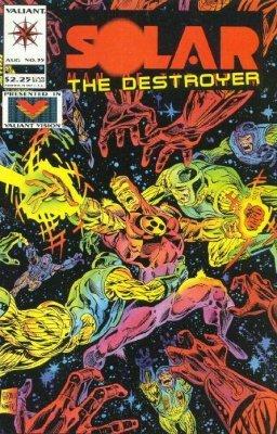 Dr. Solar, Man of the Atom Valiant Promo