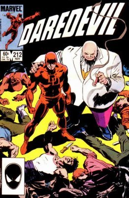 Marvel Comicss Daredevil Issue 212