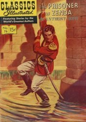 Gilberton Publications's Classics Illustrated #76: The Prisoner of Zenda Issue # 4