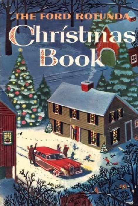 ford rotunda christmas book 1957 ford motor co. Black Bedroom Furniture Sets. Home Design Ideas