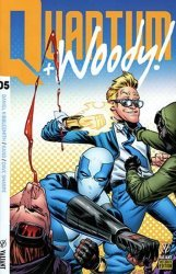 Valiant Entertainment's Quantum & Woody Issue # 5e