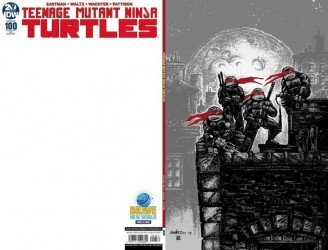 IDW Publishing's Teenage Mutant Ninja Turtles Issue # 100brave