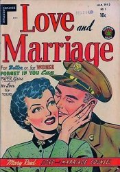 Superior Comics's Love and Marriage Issue # 1