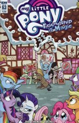 IDW Publishing's My Little Pony: Friendship is Magic Issue # 63