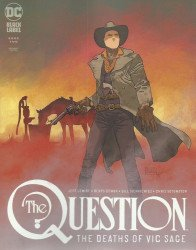 DC Black Label's The Question: The Deaths of Vic Sage Issue # 2b