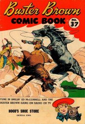 Buster Brown Shoes's Buster Brown Comics Issue # 37hoods