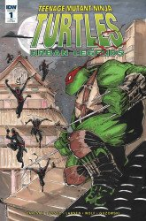 IDW Publishing's Teenage Mutant Ninja Turtles: Urban Legends Issue # 1heroes