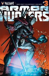 Valiant Entertainment's Armor Hunters Issue # 3