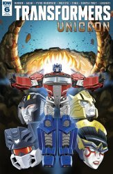 IDW Publishing's Transformers: Unicron Issue # 6ri