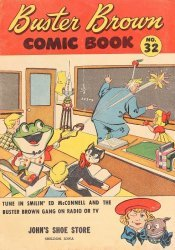 Buster Brown Shoes's Buster Brown Comics Issue # 32johns