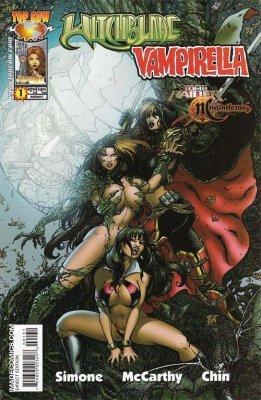 Tomb Raider/Witchblade/ Magdalena/Vampirella - Comic Art