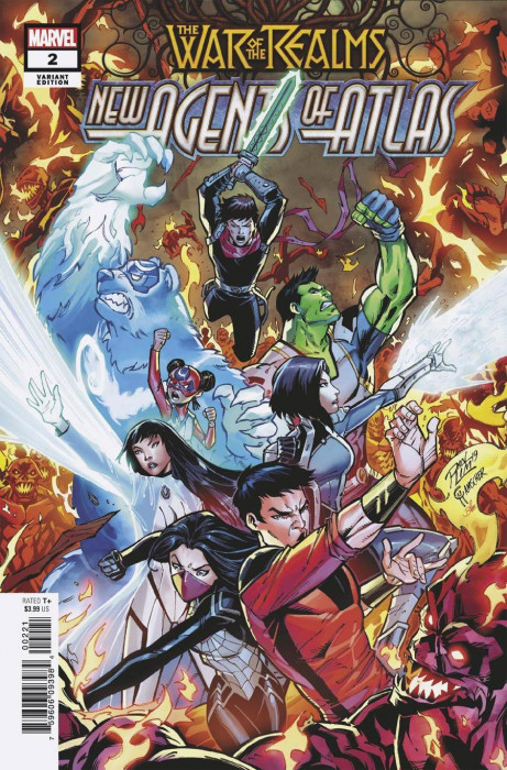 New Agents of Atlas #4 very fine+ condition VF+ War of the Realms